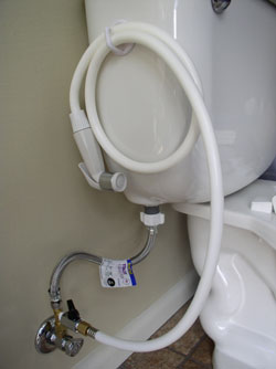 Potty Pail Diaper Sprayer and Wash System