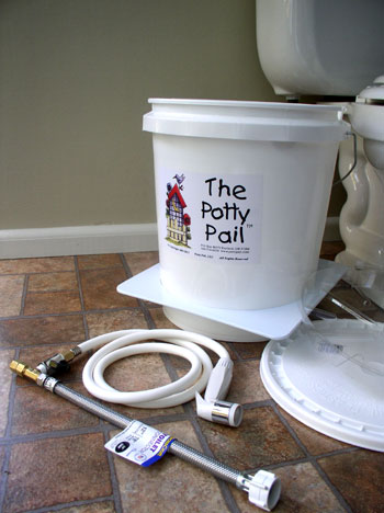 Potty Pail Diaper Wash System